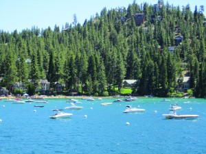 Lake Tahoe, a favorite destination where Jennifer and her family vacationed for one of their annual family reunions.